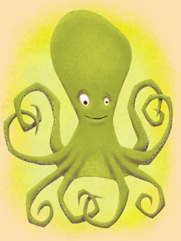Illustration of an octopus